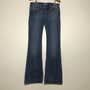 Burberry London Flaired Jeans Size 28 Five Pocket